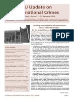 EU Update UJ Newsletter January2014