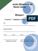 42509877 Planeacion Bloque I Proyecto I Sexto Grado
