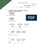 Práctica de Razonamiento Matemático 4 Primaria