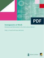 Sd-02518 - Ethnicity, Market in Irish Labour