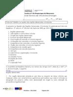 Ficha de trabalho 6 Lei quadro das regiões demarcadas