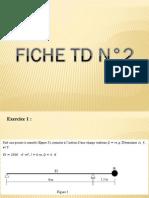 Solution de la fiche TD N°2