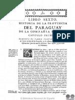 HISTORIA DE LA COMPANIA DE JESUS EN PARAGUAY - TOMO II - LIBRO SEXTO - PEDRO LOZANO - PORTALGUARANI.pdf