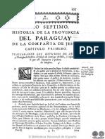 HISTORIA DE LA COMPANIA DE JESUS EN PARAGUAY - TOMO II - LIBRO SEPTIMO - PEDRO LOZANO - PORTALGUARANI.pdf