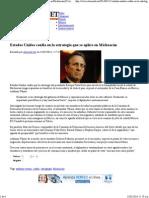 13-02-14 Estados Unidos confía en estrategia que se aplica en Michoacán