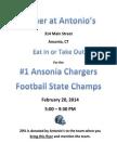 Antonios Flyer