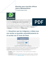 4 Trucos Para WhatsApp Poco Conocidos