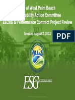 ESG Performance Contract Presentation to SAC 080211
