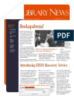 Library News February 2014