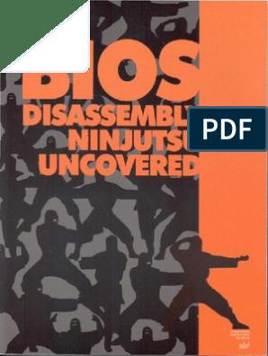 BIOS Disassembly Ninjutsu Uncovered   Bios   Computer Data