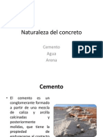 Naturaleza Del Concreto