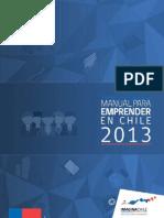 Manuel para Emprender en Chile 2013