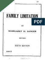 Family Limitation