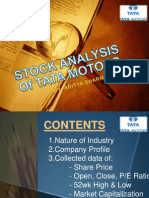 Analysis on Tata Motors