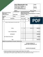 Invoice Nov '07