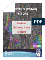 2008 Hanoi Interfermometric Processing With Doris 2
