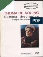 Thoma de Aquino - Summa Theologiae. Despre Dumnezeu