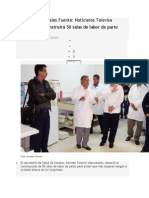01/02/14 noticieros.televisa SSA Oaxaca construirá 50 salas de labor de parto