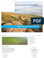 2013 Annual Report on Utah's Environment