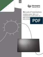 It 2011 0020136808 00 Installation Manual Solar Collector Per Helioset h