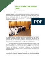 05/02/14 ciudadania express Médicos pasantes de la UNAM y IPN refuerzan programas de salud