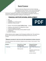 Rural Financerdm-5th Oct. by Suman Biswas. NIRD.PGDRDM
