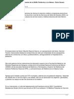 05/02/14 Diarioax Recibe Sso a 112 Medicos Pasantes de La Unam Politecnico y La Habana