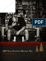 Team Elitefts 2009 Holiday Tips