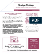 BGOA October 2009 Newsletter
