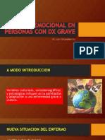 Soporte Emocional en Personas Con Dx Grave