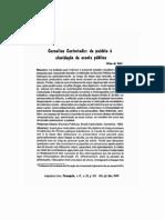 Castoriadis - da paidéia à elucidação da escola pública