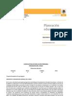 Planeacion Educativa Lepri