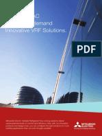 Mitsubishi Vrf Solutions Brochure