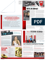 CrossFit Impact Impact Newsletter March 2014
