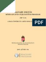 Magyary Kozigazgatas Fejlesztesi Program1112
