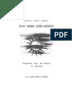 Arbeitskreis Deutsche Mythologie - Das Erbe der Ahnen - Germanische Feste und Bräuche im Jahresring (1941)