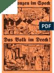 Arendt, Paul - Die Bonzen im Speck - Das Volk im Dreck (1931)