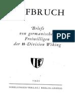 Aufbruch - Briefe von germanischen Freiwilligen der SS-Division Wiking (1943)