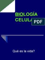 Biologia Celular - vida, célula