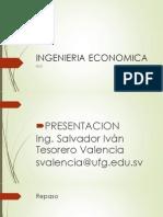 Ingenieria Economica Semana 5 Clase 1 Con Guia de Ejercicios