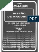 [Schaum - A.S.Hall A.R. Holowenco H.G. Laughlin] Diseño de Maquinas