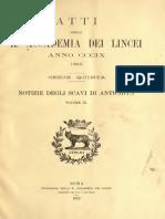 Notizie degli scavi di antichità (1912)