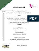 Tesis Epideimiologia Tce Hrav Pediatria