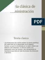 Teoría clásica de administración