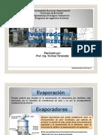 Evaporadores y Cristalizadores