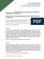ASMR Programa de Continuidad de Cuidados