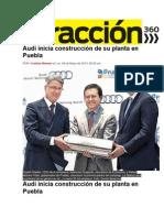 06-05-2013 Atracción 360 - Audi inicia construcción de su planta en Puebla.pdf