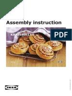 Kanelbullar RecipeCard UK&IE A5