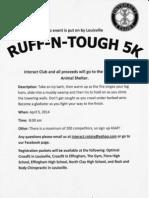 Interact Rotary Ruff N Tough Run.2014