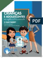 Cartilha Criancas Sem Registro Civil
